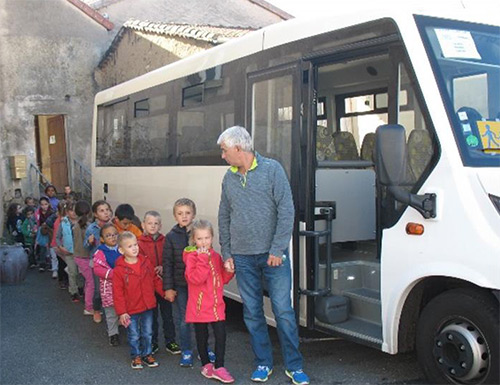 Le transport scolaire